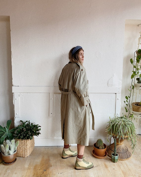 1980s London Fog Trench - image 3