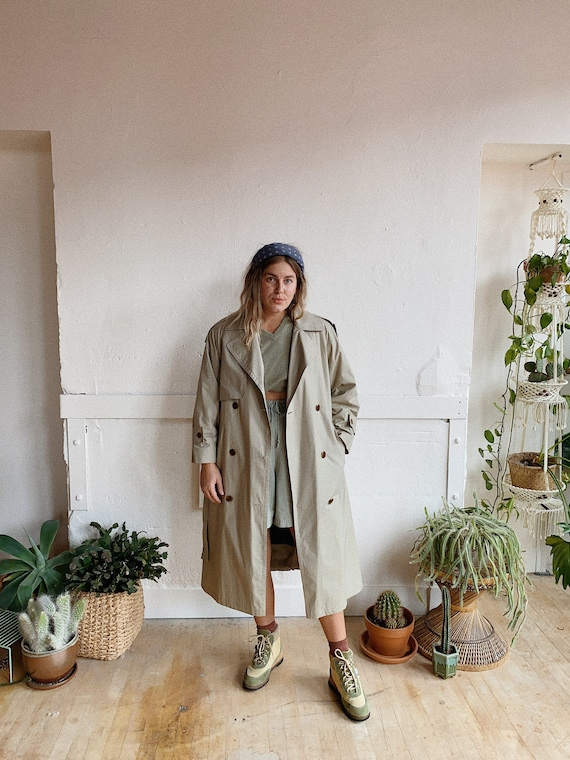 1980s London Fog Trench - image 4