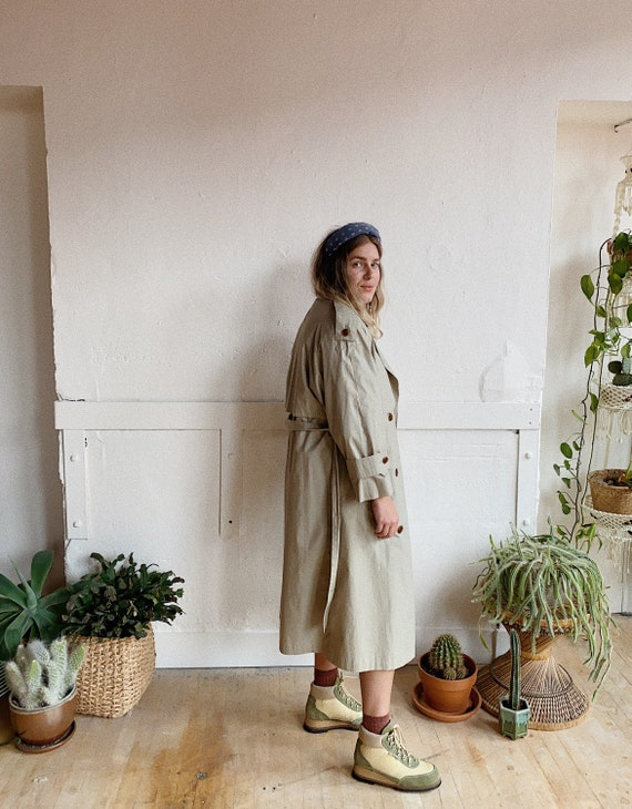 1980s London Fog Trench - image 2