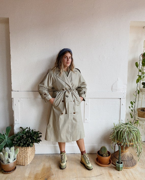 1980s London Fog Trench - image 5