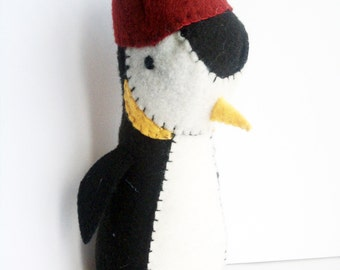 Penguin winter plush- with or without hat