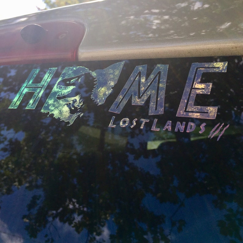 Lost Lands Music Festival Ohio Home 6 inch Vinyl Decal image 0