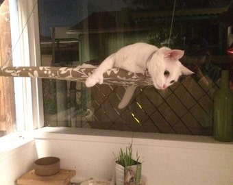Soothing Patterns - Curious Cats Window Perch