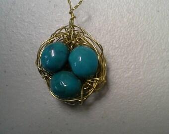 Robin's Egg Pendant