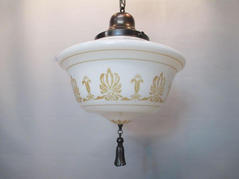 Vintage Antique Gothic Ceiling Light Fixture Art Deco Moorish Etsy