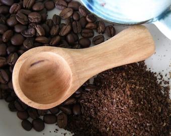 Coffee Scoop Cherry Wood