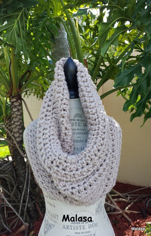 HÄKELN Sie Muster Anfänger Schal Cowl Wrap Infinity | Etsy