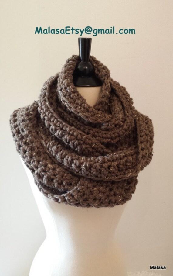 CROCHET para principiantes bufanda capucha abrigo infinito | Etsy