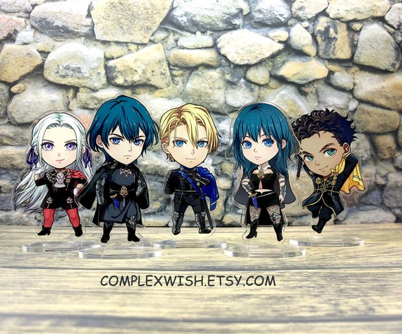 Fire Emblem Three Houses M!Byleth F!Byleth Edelgard Claude Dimitri FE3H Lanyard