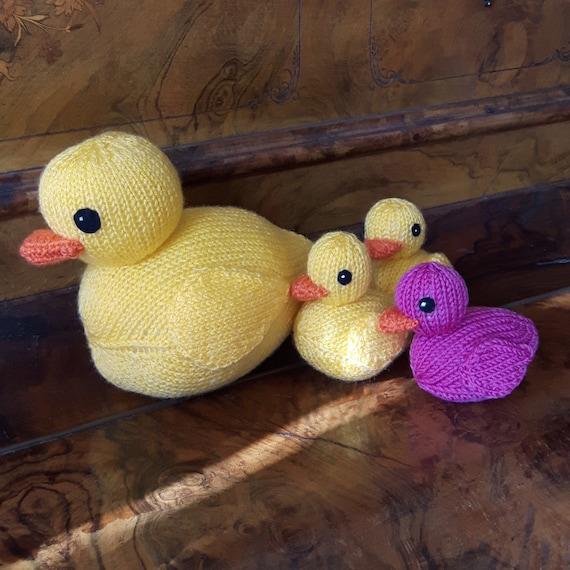 Rubber Ducks knitting pattern PDF cute rubber duckies   Etsy