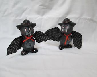 Halloween Bats, set of 2