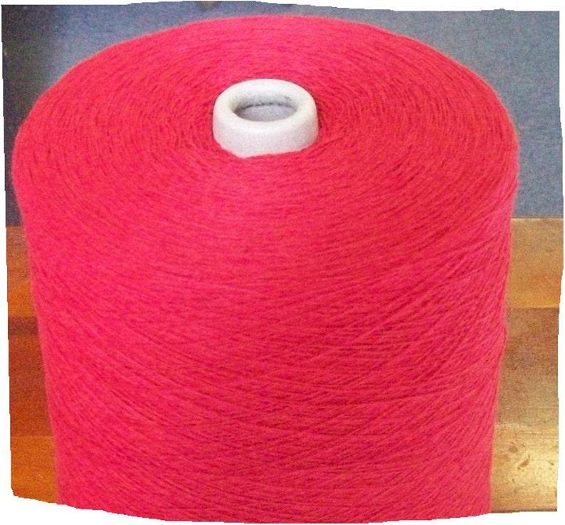 Red Cotton Yarn 62 Knitting Crochet weaving and machine knitting yarn