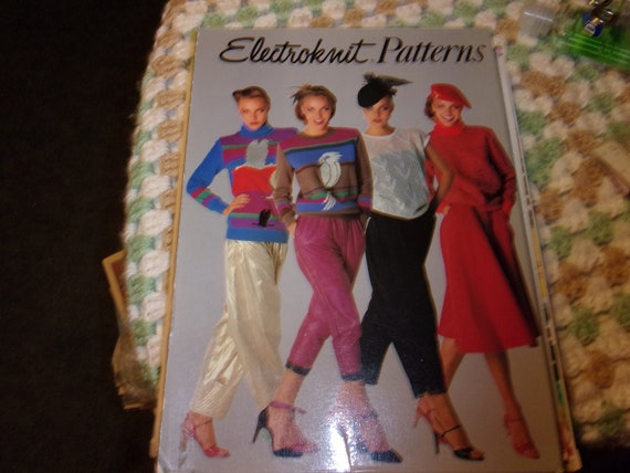 Brotherknitking Electroknit Patterns Electronic Knitting Etsy