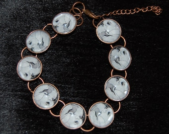 Original Photography Creepy Baby Doll Bracelet