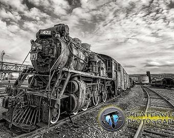 Steam Locomotive, Steamtown Historical Site, Scranton Pennsylvania  Fine Art  Photographic Print