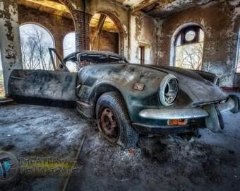 Hop In, Urbex Print Fine Art  Photographic