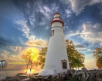 Take The Shot- Marblehead Lighthouse  Fine Art  Photographic  Print