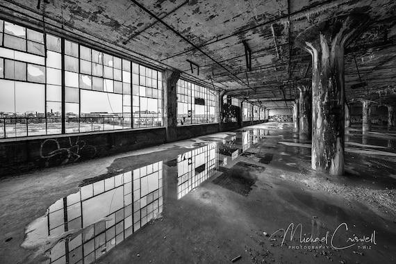 Fisher Body Plant 21 Fine Art Photographic Print Abandoned Detroit