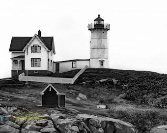 Nubble Lighthouse Fine Art  Photographic Print