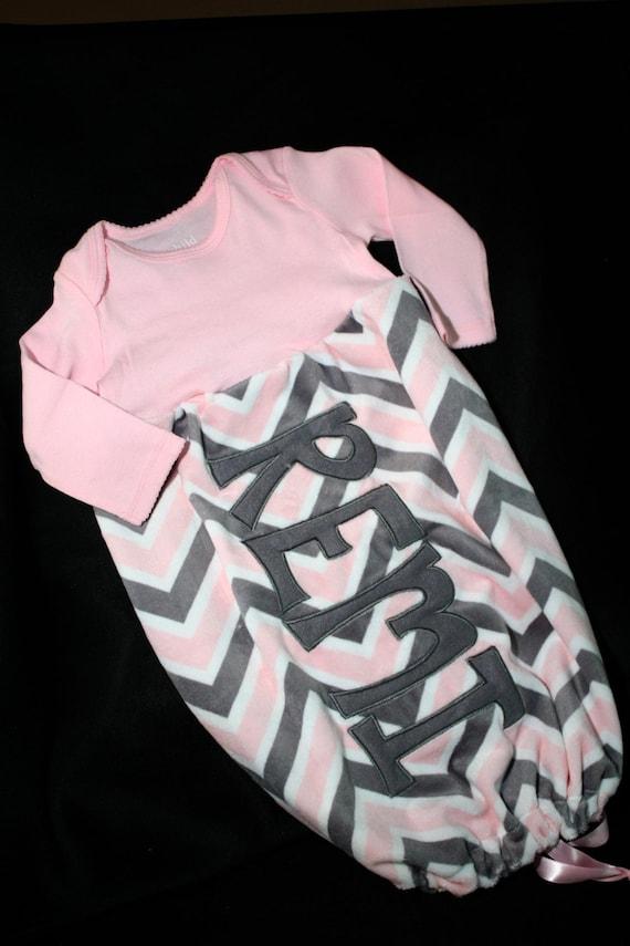 Custom Embroidered Infant Sleep Sack