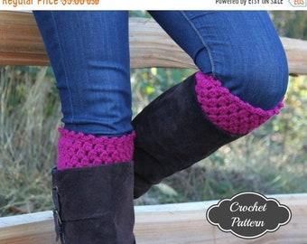 ON SALE CROCHET Pattern - Bot Cuffs Crochet Pattern, Boot Topper Pattern, Crochet Boot Cuffs, Boot Accessories