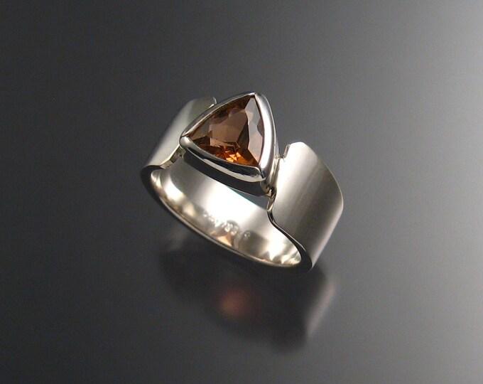 Pink Tourmaline ring, Sterling, size 6