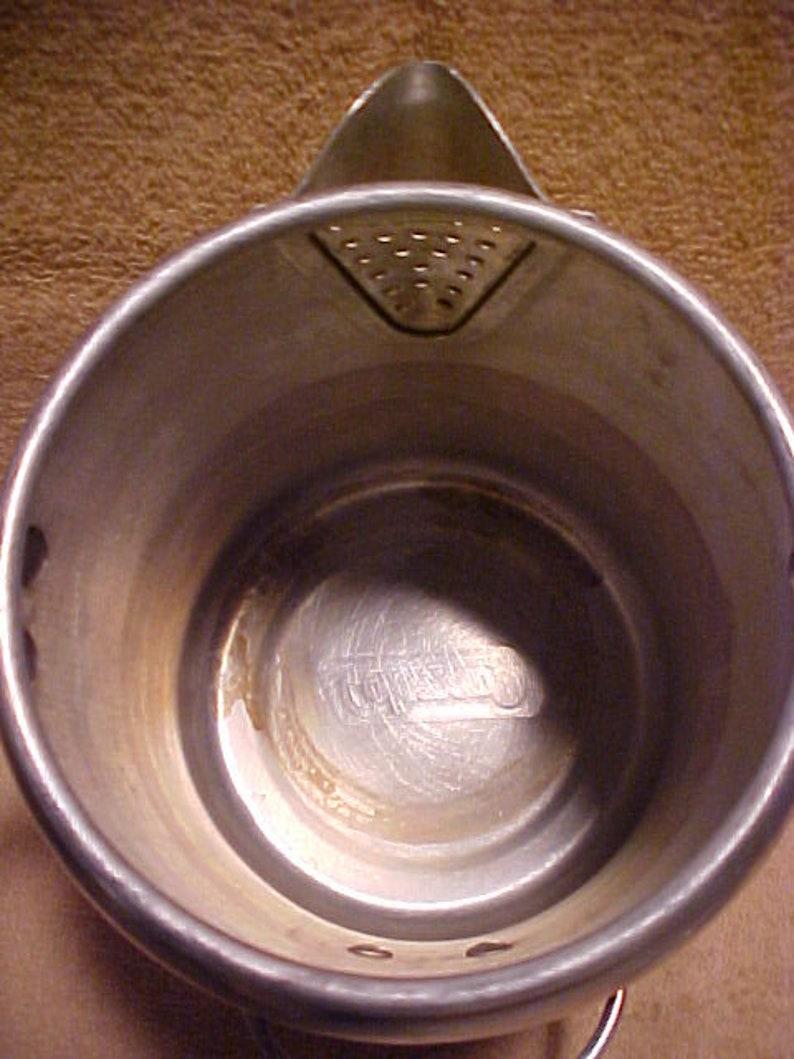 Coleman Aluminum 9 Cup Camping Hiking Percolator Coffee Pot