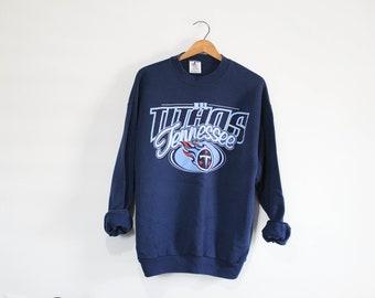 db180f69 Vintage Tennessee Titans Football Sweatshirt