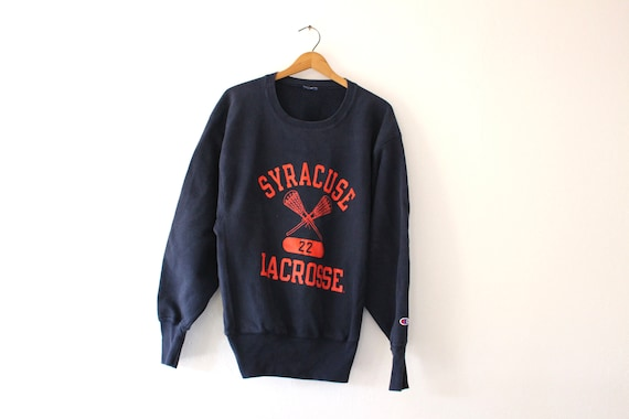 Vintage Syracuse University Orangemen Lacrosse Swe