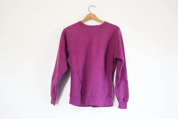 Vintage Kids Purple Champion Reverse Weave Sweats… - image 3