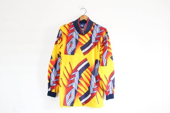 Vintage Umbro Soccer Goalie Jersey