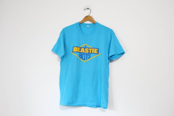 Vintage Blue Beastie Boys T Shirt