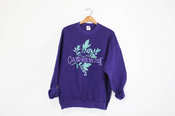 Vintage Glacier National Park Montana Sweatshirt