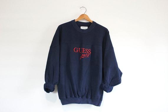 Vintage Blue Guess Jeans Sweatshirt
