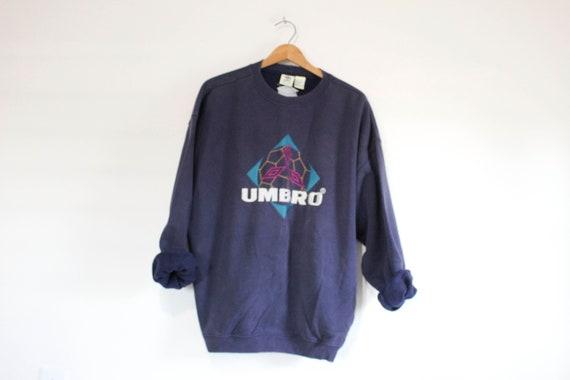 Vintage Umbro Soccer Sweatshirt Large