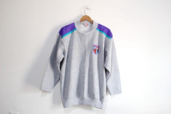 Vintage White Stag Sweatshirt Medium