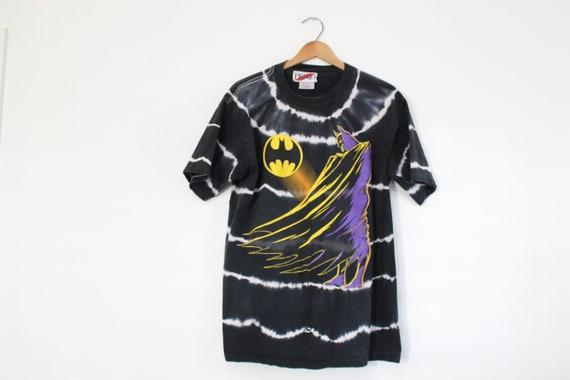 Vintage Batman Tie Dye T Shirt