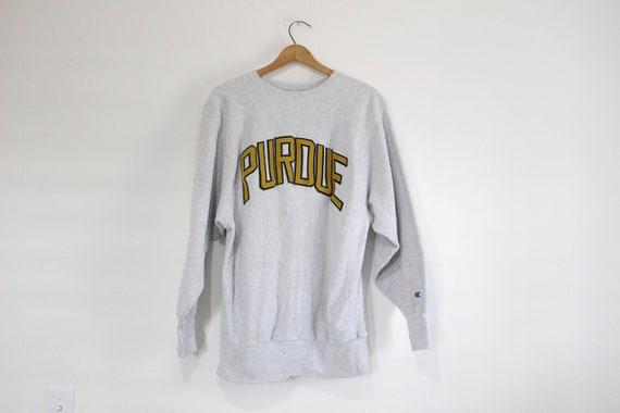 Vintage Purdue University Champion Reverse Weave S