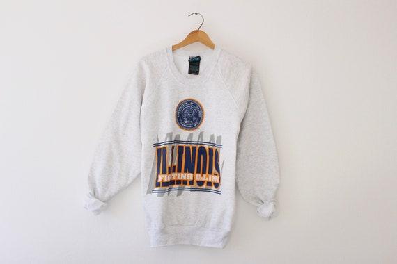 Vintage University of Illinois Fightin Illini Swea