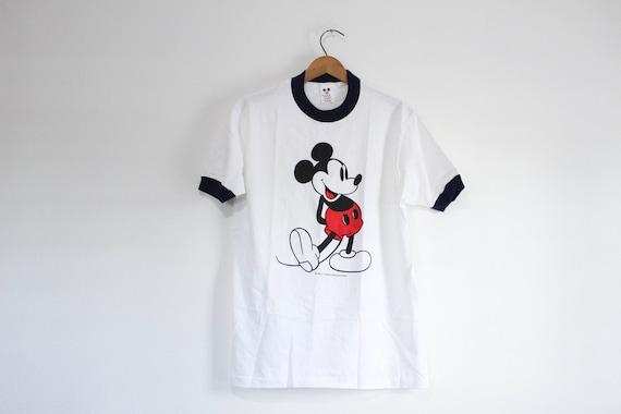 Vintage Walt Disney Productions Mickey Ringer T Sh