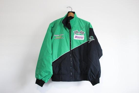 Vintage Quaker State Racing Jacket Steve Kinser Au