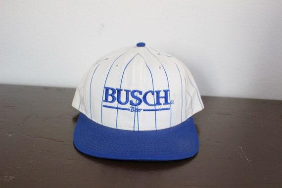 Vintage Busch Beer Snapback Hat