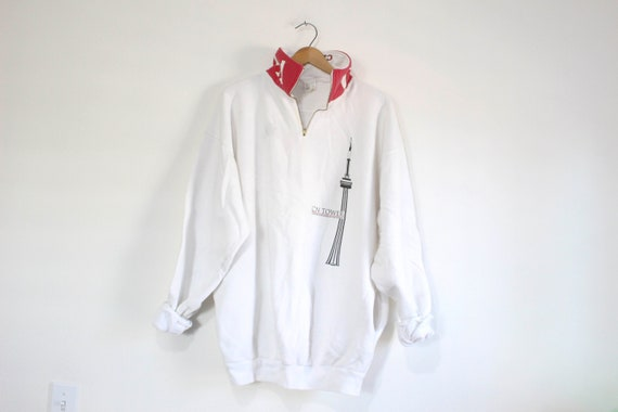 Vintage Toronto Canada CN Tower Sweatshirt