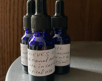 Thieves oil 15ml anti microbial essential oil blend