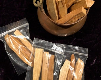 Palo Santo sticks--3-pack or 6-pack