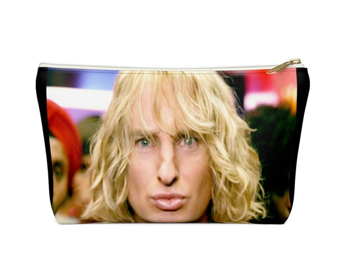 Zoolander and Hansel makeup cosmetic bag/pouch