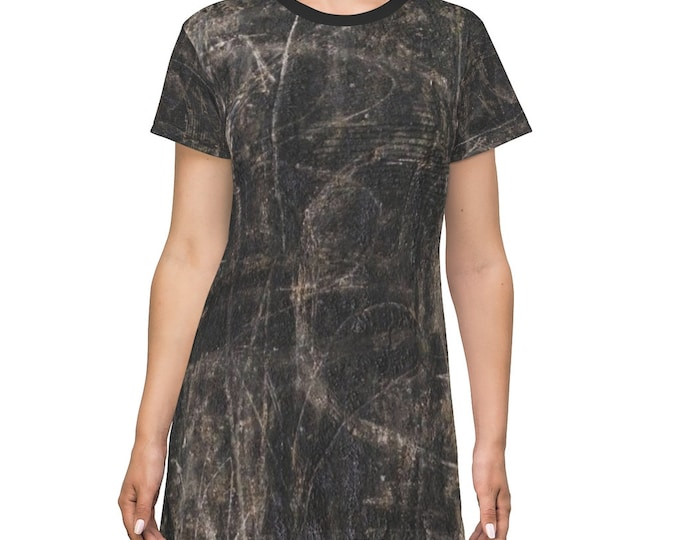 Post-Apocalyptic style T-Shirt Dress