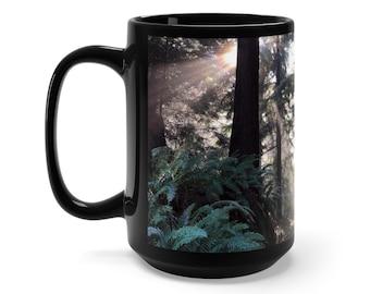 Cascadian Forest Mug 15 oz.