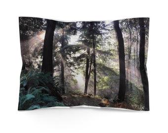 Cascadian Forest Microfiber Pillow Sham