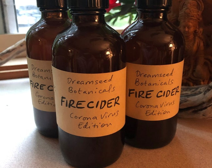 Fire Cider immune-boosting tonic by Dreamseed Botanicals (unsweetened)